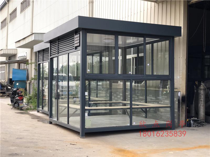 工厂室外吸烟室