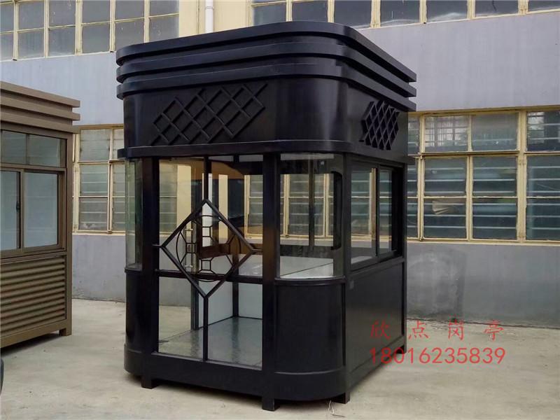 圆形钢结构保安岗亭