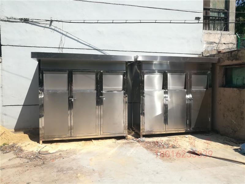 不锈钢垃圾分类房
