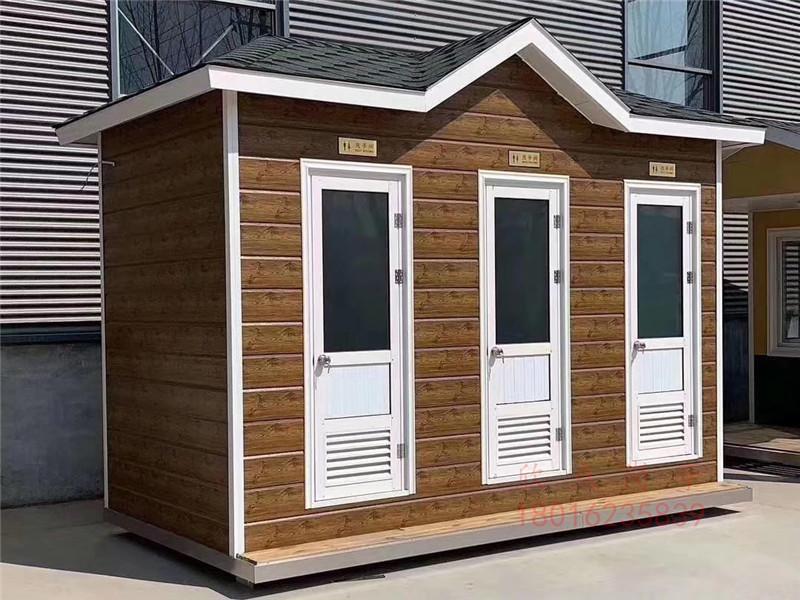 旅游景区防腐木移动环保厕所
